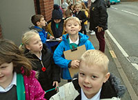 Y1 Walk around Fleckney