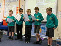 Y3 English - Animals of the Rainforest Presentations