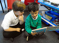 Y1 English - Sharing picture books.