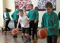 LeicesterRiders Basketball with Y6